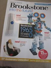 BROOKSTONE INTO THE FUTURE 2015 CATALOG 50 YEARS OF INNOVATION BRAND NEW