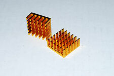 22*22*10mm Aluminum Heat Sink Heatsink IC LED Power Transistor LOT 5PCS A266