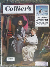 Collier's Magazine  June 14,1952  Rainy Day In The Attic  GREAT VINTAGE ADS