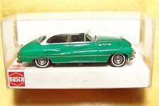 HO Busch 2-Tone Green/White 1950 Buick Sedan 1/87 Model Car 44702