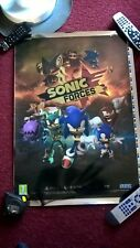 Sonic Forces Poster - Rare Uncut Direct from the Factory