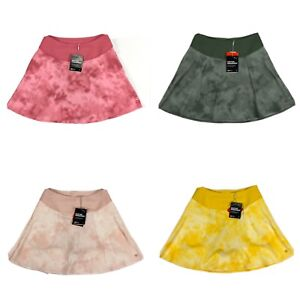 Puma PWRSHAPE Tie Dye Golf Skirt Rose Pink Yellow Green Womens SZ S ( 598300 )