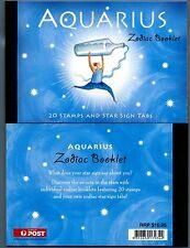 AUSTRALIA - Libretti - 2005 - Zodiaco - Acquario - $ 10,95