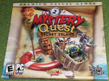 Mystery Quest Secret Island CD by Premium Casual Games and mumbo jumbo game
