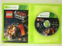 The LEGO Movie Videogame MINT Disc Xbox 360 Complete CIB VERY Fast Ship!!!