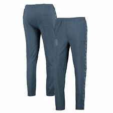 Hummel Womens Ladies Everton Football Travel Pants Track Bottoms - Bering Sea