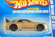 HOT WHEELS JAPANESE CARD #11 - NISSAN SKYLINE GT-R R32 - GOLD