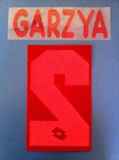 bari kit GARZYA rosso flock Nameset maglia calcio lotto