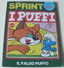 I PUFFI 'IL FALSO PUFFO' (ALBI SPRINT anno II nr. 9 del 1971)