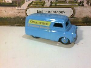 Dinky Bedford Van nicely restored in blue with Ovaltine Logos.
