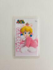 Super Mario 3D World Bowser's Fury - Cat Peach Amiibo Card