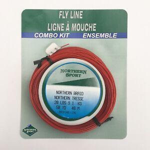 Northern Sport Weight Forward 6 Intermediate WF6I Colour Mahogany 1.0 inches/sec