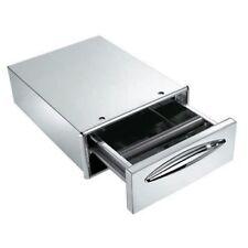 Cassetto caffè acciaio inox foro banco cm 35x14 RS9556