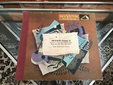Chopin Nocturnes (Volume 1) Artur Rubenstein 78's RCA Victor Red Seal M461 VG