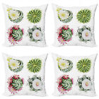 Ambesonne Vintage Scene Cushion Cover Set of 4 for Couch and Bed in 4 Sizes