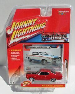 Johnny Lightning Muscle cars USA 1970 AMC Rebel Machine Red FNQHotwheels JL10