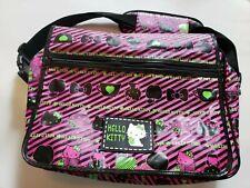 Sanrio Hello Kitty Messenger Diaper Laptop Shoulder Messenger Bag Black Pink