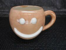 Old Brown SMILEY FACE COFFEE CUP Smilie Mug
