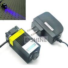 Fokussierbares 450nm 1000mW 1W blaues Laser-Punkt-Dioden-Modul mit Adapter-Energ