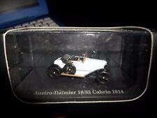 HO Atlas Masterpiece Austro Daimler 18/32 Cabrio 1914 # 87015 NIB