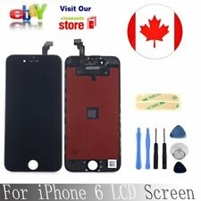 """For iPhone 6 4.7"""" Black LCD Lens Touch Screen Digitier Display Replacement new"""