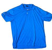 Mens - NIKE GOLF - TOUR PERFORMANCE Polo Shirt DRI FIT Blue XL