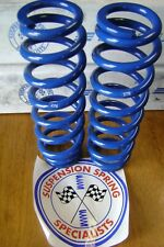 "2 Suspension Springs 1 7/8"" Id x 10"" Long 275 lb Blue Coil Over Springs"