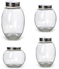 Vorratsglas Vorratsdosen mit Drehverschluss Vorratsgläser Bonbonglas Glas NEU