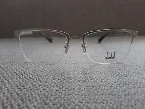 Dunhill Half Rim Eyeglasses Frame Model VDH064 Color Matte Silver 54-17