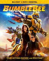 BumbleBee - Blu-ray+ DVD + Digital HD, New, NO Sleeve,  Hailee Steinfeld
