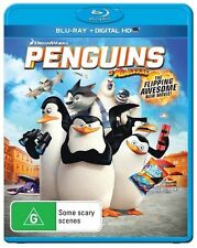 Penguins Of Madagascar - The Movie (Blu-ray, 2015)
