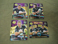 2007 RUGBY LEAGUE GOLD TAZO  TEAM SET - PENRITH PANTHERS