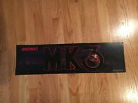 Mortal Kombat 3 Video Arcade Game Marquee, Midway 1995