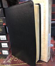 Biblia de estudio plenitud reina valera 1960 piel elaborada negro