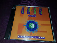 CD The 80s Collection 1985 - Album 2Cds 1993 - Time Life