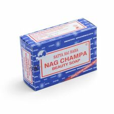 3 Bars Nag Champa Beauty Soap (75g) Free From Animal Fat: Free Delivery