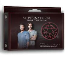 Jeu de cartes Supernatural cartes à jouer Supernatural playing card set