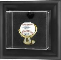 Black Framed Wall Mounted Baseball Display Case - Fanatics