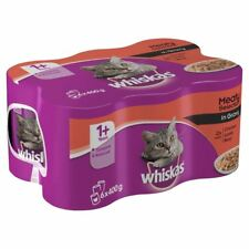 Whiskas Cat Tins Meaty Selection in Gravy 6 x 400g