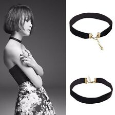 New Black Velvet Choker Collar Necklace Gothic Punk Women Jewelry Lace Chain
