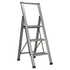 Sealey Apsl3 aluminio profesional plegable escalera de mano 3-step 150kg