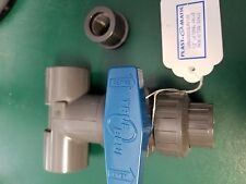 "PLAST-O-MATIC LMBV050VS-PV-100 1"" LATERAL VALVE"