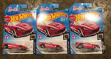 2018 Hot Wheels ~ HW Screen Time ~ Barbie '14 Corvette Stingray ~ Lot of 3 Cars!