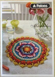CROCHET PATTERN BOOK Lace Crocheted Mandalas