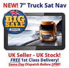 Ambiente camión Satnav 2017 GPS 7 Pulgadas Coche/Camión/ambiente/entrenador/caravana actualizaciones gratuitas