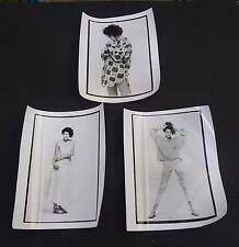 Vtg 1985 Max Studio press model fashion photos lot 8x10