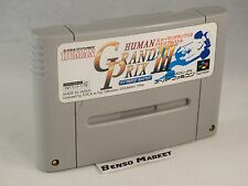 HUMAN GRAND PRIX III 3 F1 TRIPLE BATTLE NINTENDO SUPER FAMICOM SNES 16BIT JP JAP