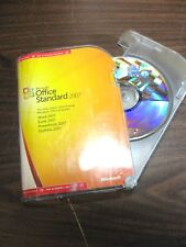 Microsoft Office 2007 Standard  Academic Retail version USED -S1