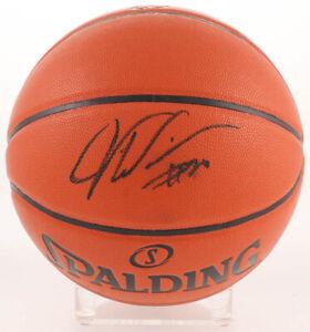 Justise Winslow Signed NBA Game Ball Series Basketball (JSA COA)