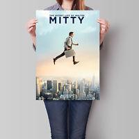 The Secret Life of Walter Mitty Movie Poster Ben Stiller 16.6 x 23.4 in (A2)
